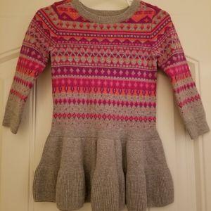 Gap sweater dress size 18-24 months
